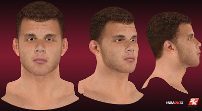NBA 2K13 Blake Griffin Realistic Cyberface Patch