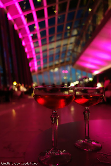 Cocktails at the Sky Garden London