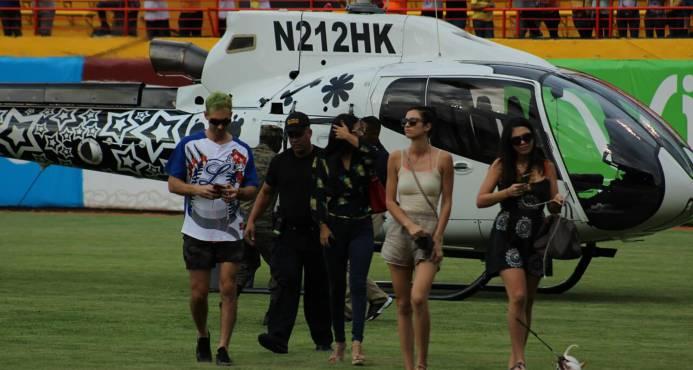 Presidente de las Águilas Cibaeñas dice no autorizaron aterrizaje helicóptero