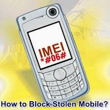 How to Block Stolen Mobile Phone Using IMEI Number