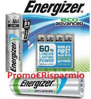 Logo Energizer ti regala Gift card Carrefour da 50 euro