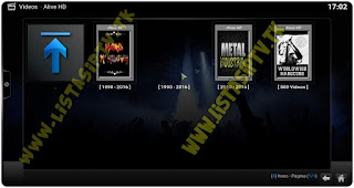 Add-On - Alive HD - KODI - Shows e Concertos Ao Vivo