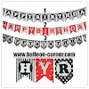 Bunting Flag HAPPY BIRTHDAY 3 Motif