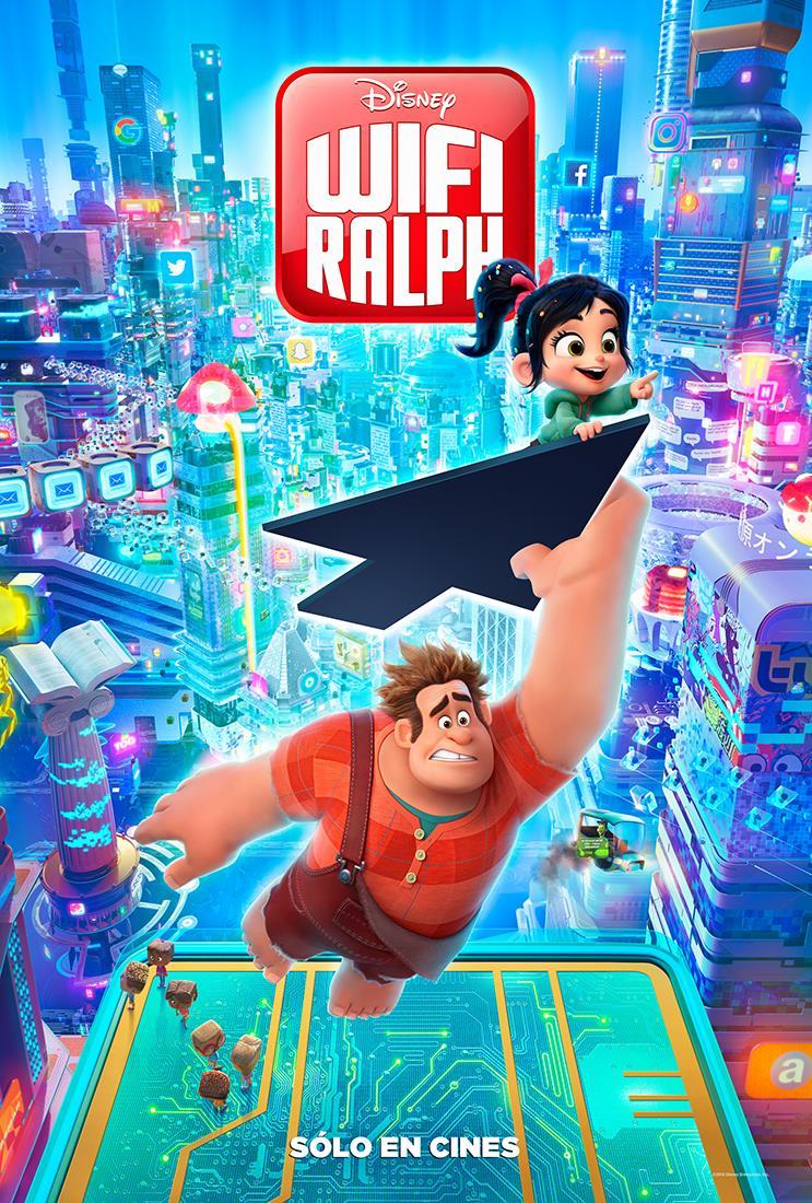 Resultado de imagen para poster wifi ralph