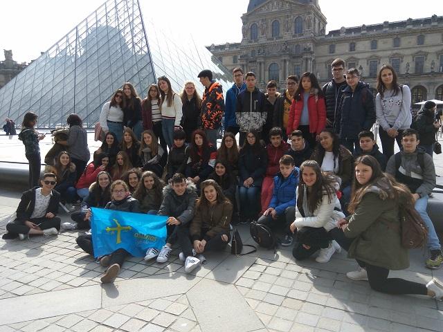 foto de IES Padre Feijoo: Viaje de Estudios a París