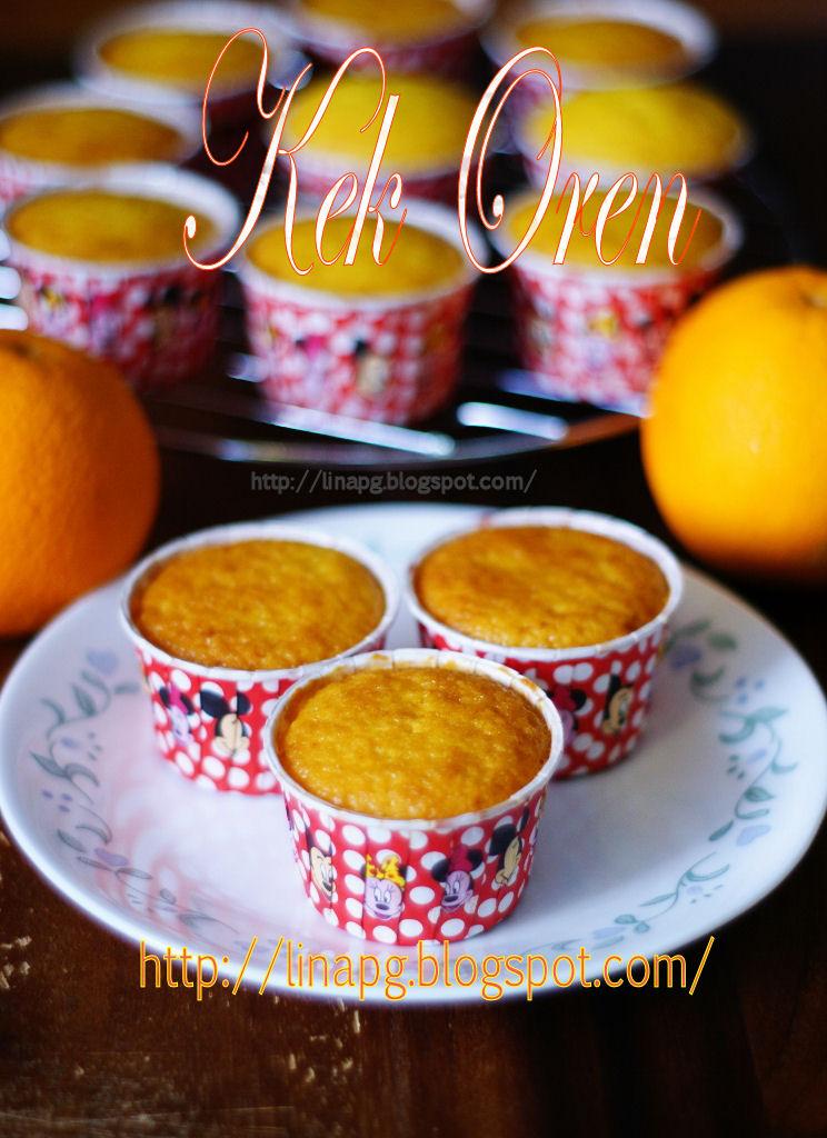 resepi kek oren  mudah  sedap teratak mutiara kasih Resepi Kek Guna Gelatin Enak dan Mudah