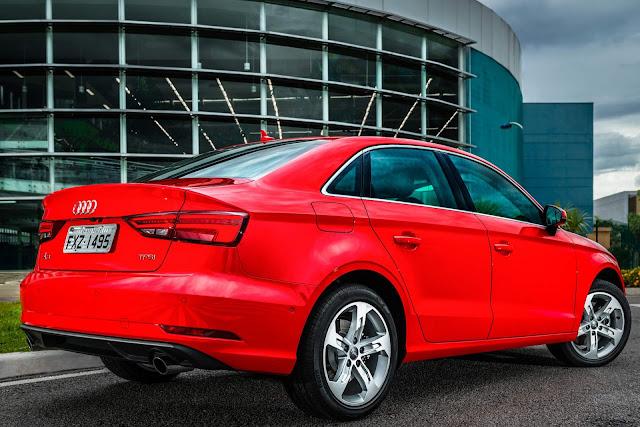 Audi A3 Sedan 2.0 Ambition 2017 - vermelho