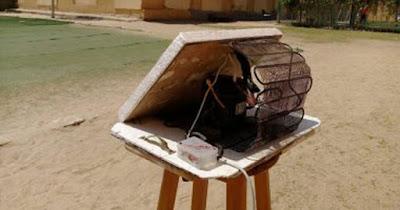 طالبين ببنى سويف يبتكران جهازا لإنتاج المياه فى الصحراء