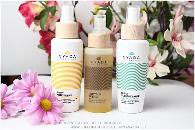 luce e volume gyada cosmetics, vegan bio, capelli hair routine