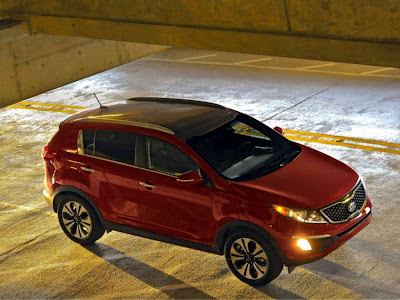 KIA Sportage SX Standard Resolution HD Wallpaper 3