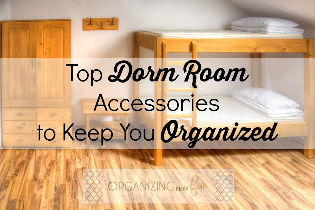 Top Dorm Room Accessories to Keep You Organized :: OrganizingMadeFun.com