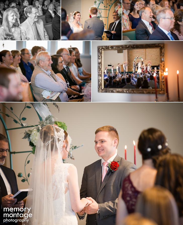 Charming Boulevard Park Church Wedding and Normandy Park Community Club Reception in Seattle || Rebeccah + Jon