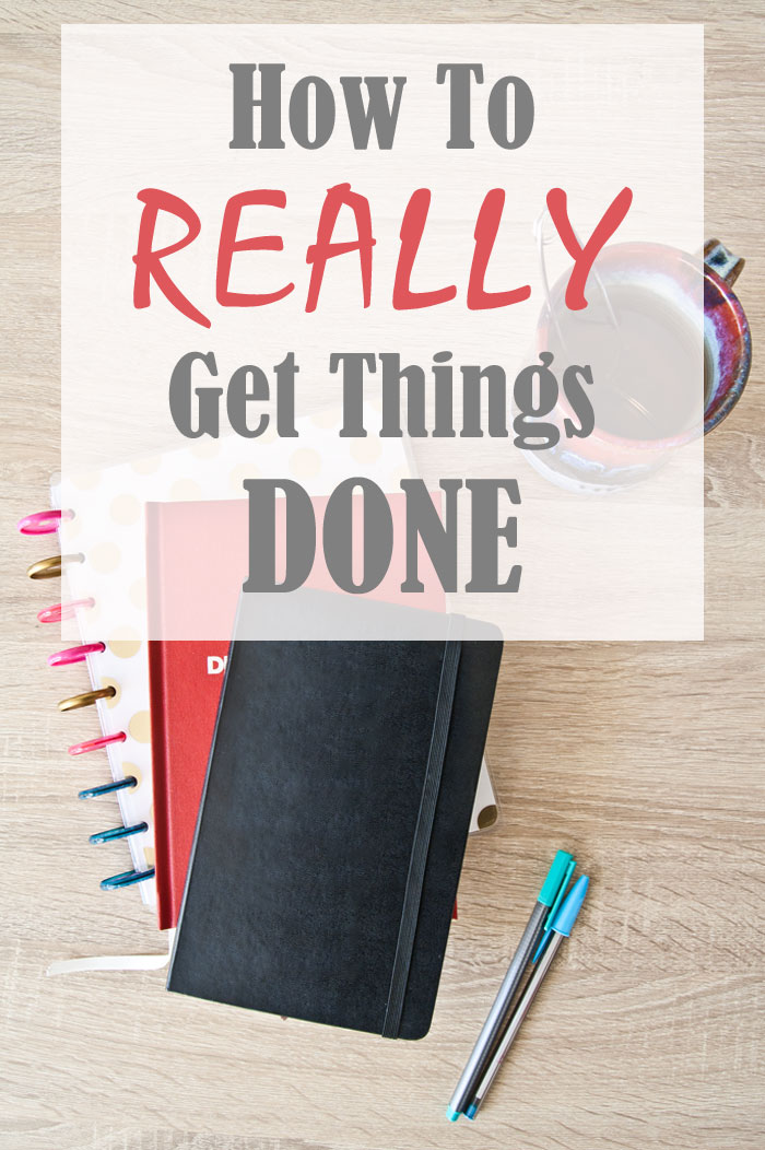 How to Really get things done by Kim Dellow