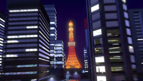 You must race to the top of Tokyo Tower!