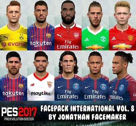 فيس باك جديد محدث يضم اوجه لاعبين من جميع الفرق 2018 لبيس 2017