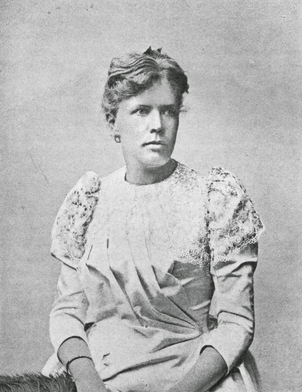 la scrittrice e femminista svedese, duchessa di caianello del Pezzo