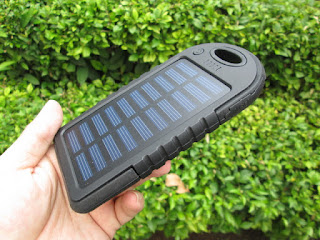 powerbank solar cell (charger tenaga surya)