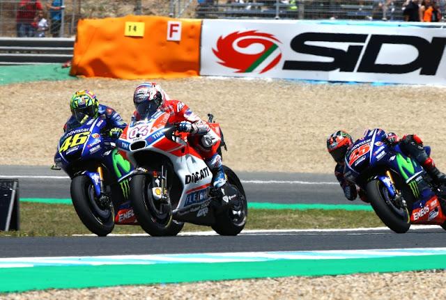 Ini Posisi Klasemen Rossi Setelah Juara MotoGP Belanda 2017