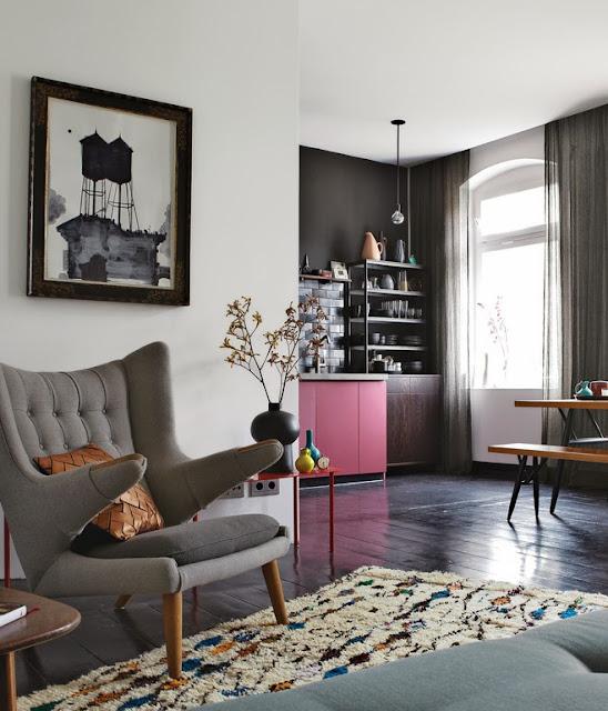 Masculine small flat in Berlin   Daily Dream Decor - Urban Masculine Decor In An Apartment