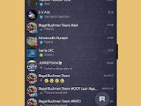 Download BBM MOD Dark Navy V3.2.5.12 Apk Gratis Terbaru