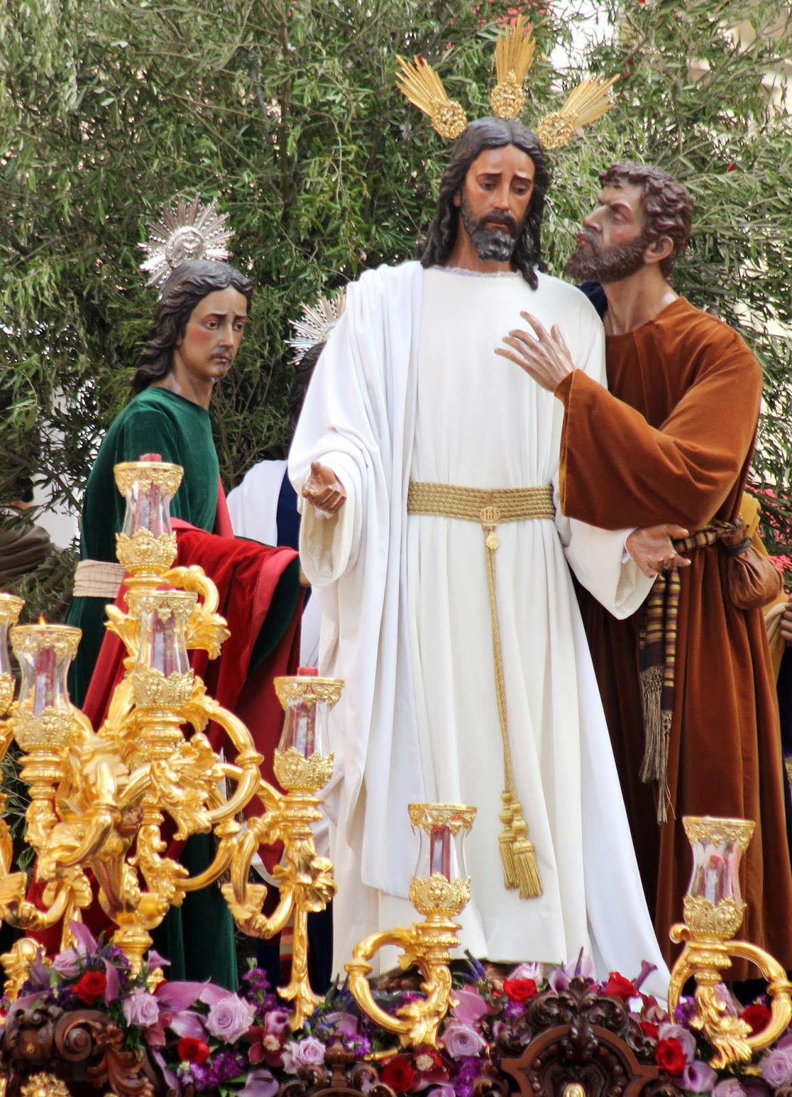 Jesús de la Redención en el beso de Judas
