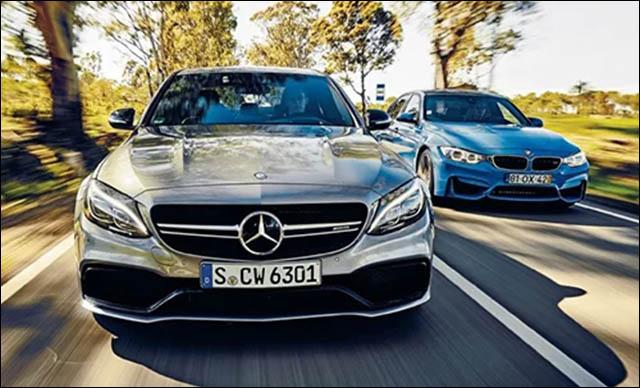 Mercedes-AMG C63 và BMW M3