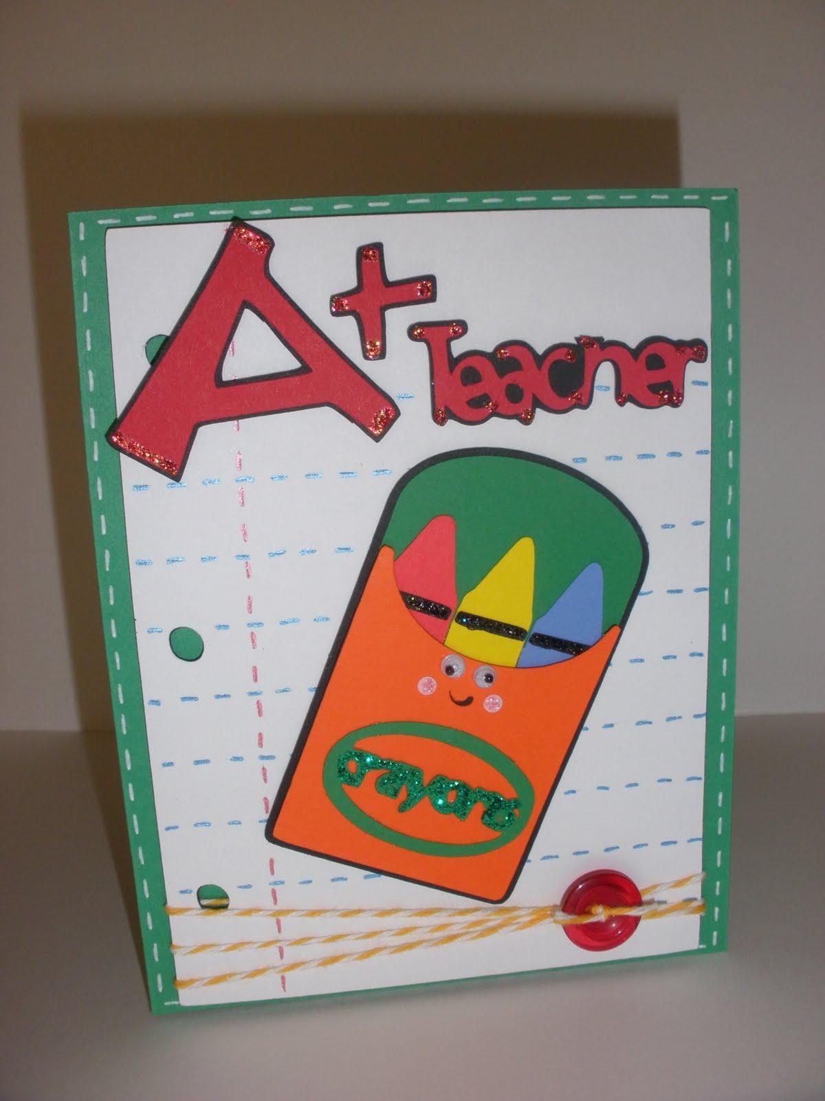 star's paper passion teacher appreciation card