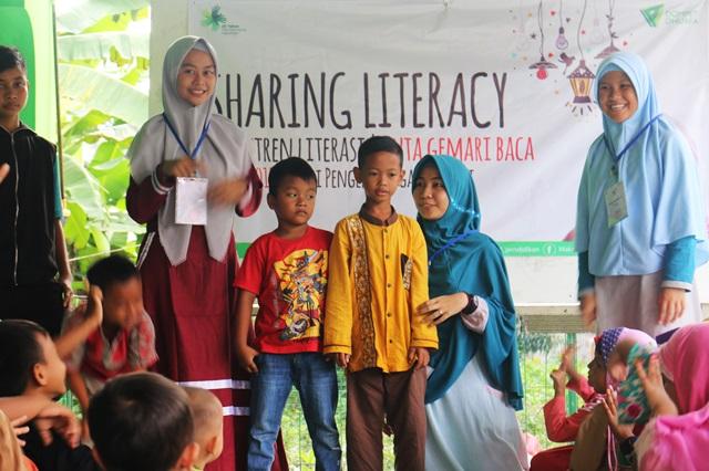 Peserta Pesantren Literasi Duta Gemari Baca Batch 4 Ajak Masyarakat Mengenal Literasi