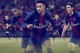 PSG 2018/19 Nike Home Kit