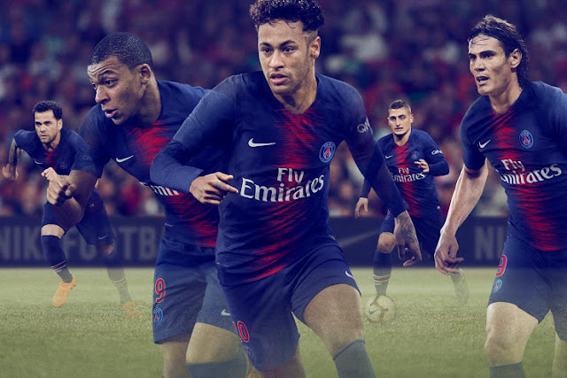 edfe5de44c9 Paris Saint-Germain (PSG) 2018 19 Kit - Dream League Soccer Kits ...