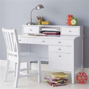 White Childrens Desk