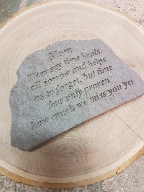memorial stone at The Camellia