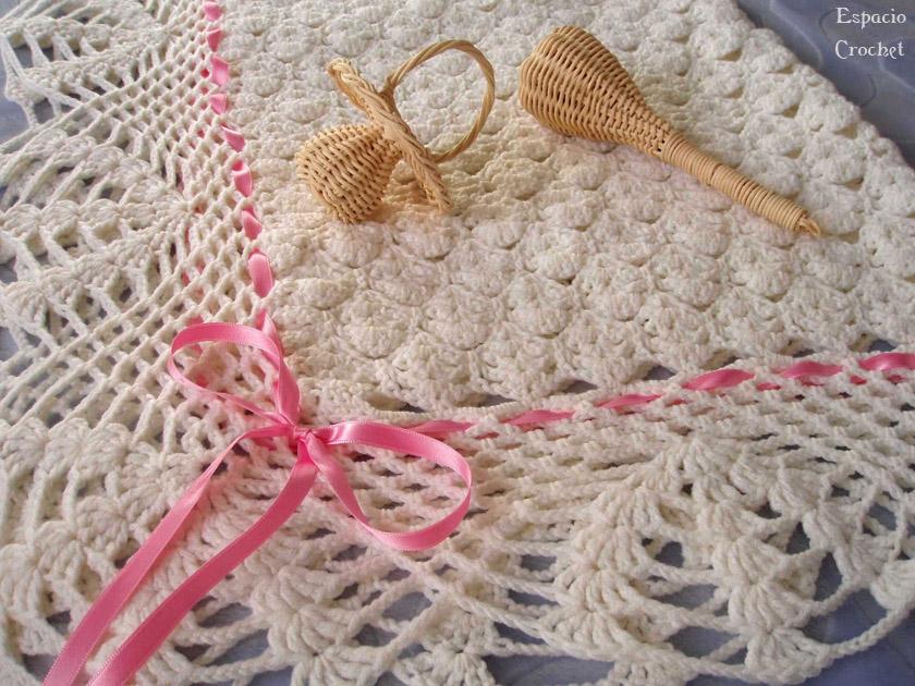 Manta de bebé | Espacio Crochet