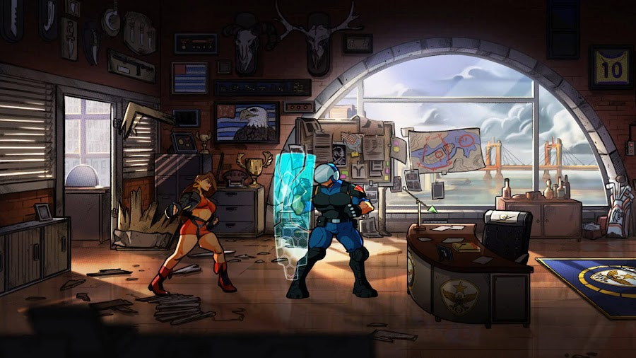 streets of rage 4 screenshots blaze fielding dotemu
