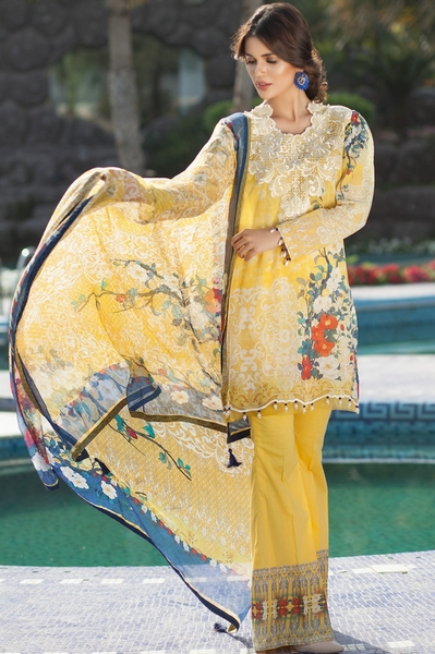 Mausummery Lawn 2017 Spring Summer Collection