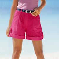 Pantaloni scurti - bermude reglabili