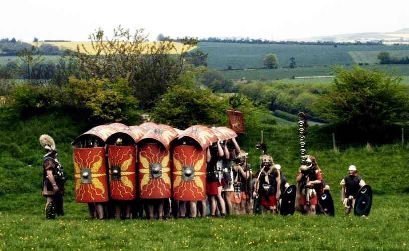 Soldados romanos y concubinato, de la mano