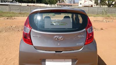 New Hyundai EON silver rear image