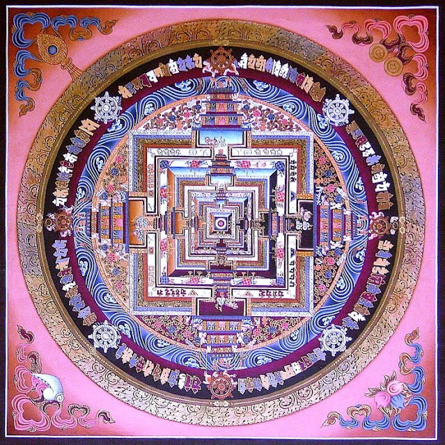 Resultado de imagem para mandalas tibetanas
