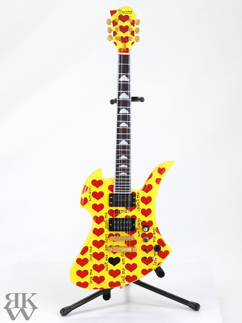 hide Guitar Collection 1/8 Burny MG-YH