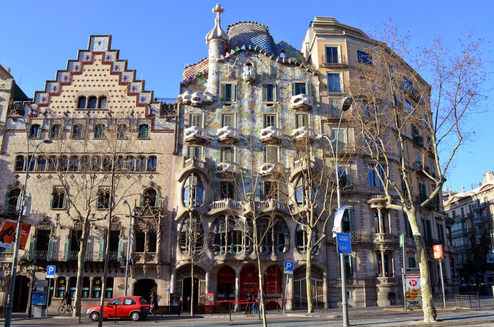 La Casa Batll  Les Pedres de Barcelona