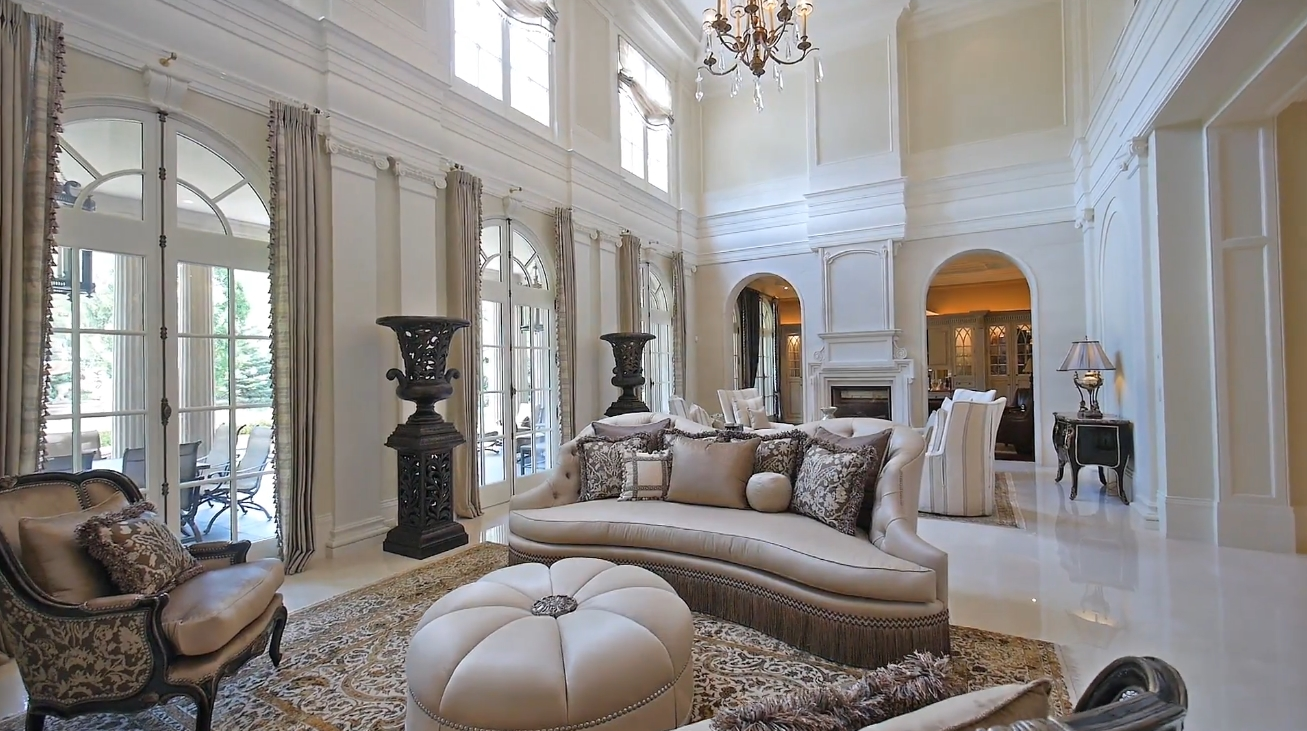 Luxury Mansion Interior Design Tour vs. 489 Lakeshore Road East, Oakville, ON - Sotheby's International Realty Canada