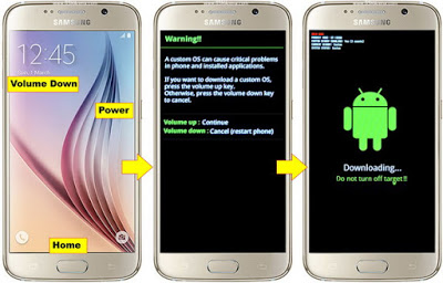 How To Flash Android Samsung S6 Edge Triks Android