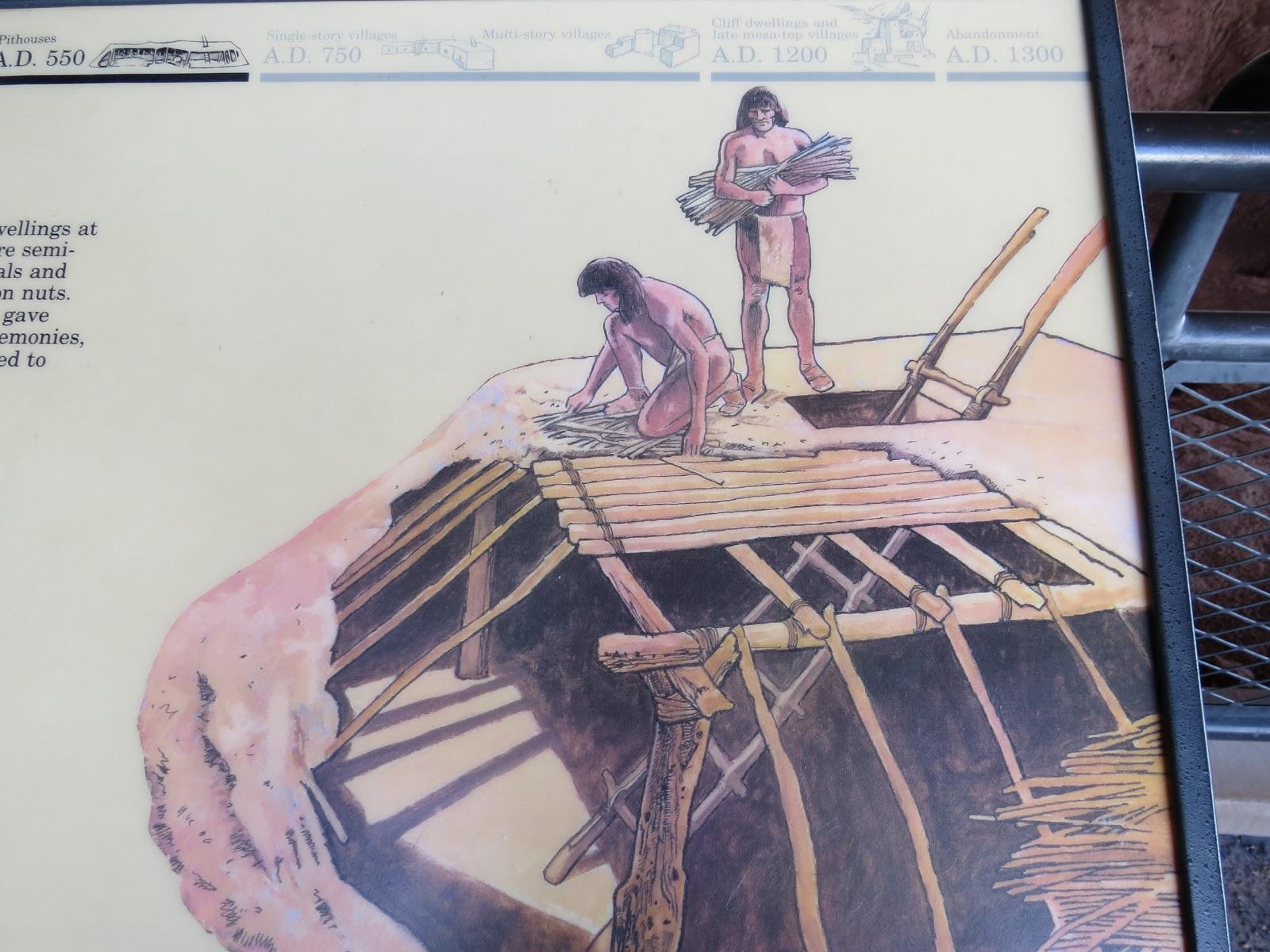 Grandpa Bill and Black Beauty Travel: Mesa Verdes # 5 ... on native american house project, native american indian projects, native american plank house plans, native american long house plans,
