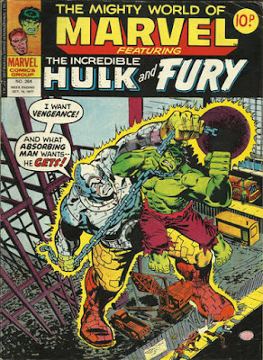 Mighty World of Marvel #264, Hulk vs Absorbing Man