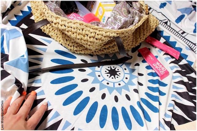 Shake&Drink et son sac de plage minceur, Evolupharm - Blog beauté