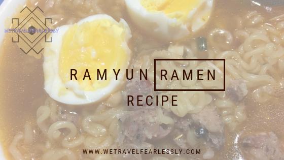 Ramyun Ramen - WTF Recipe