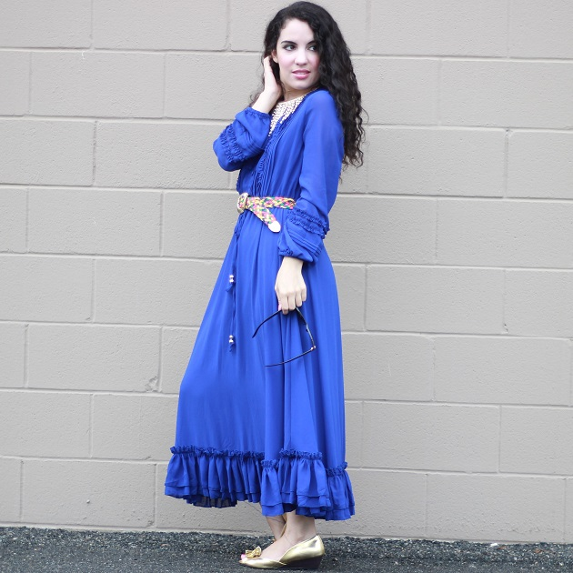 SheIn Blue Dress