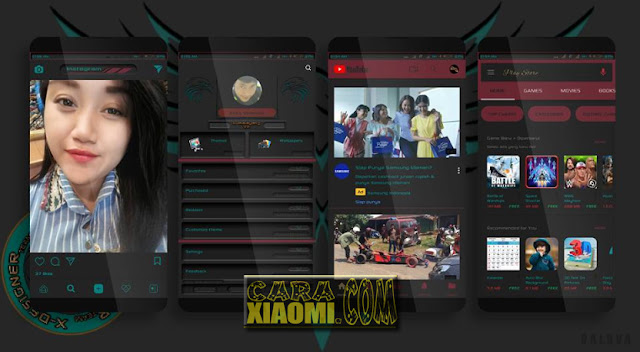 Download MIUI Theme Kumalayang V2 Mtz For MIUI New Version