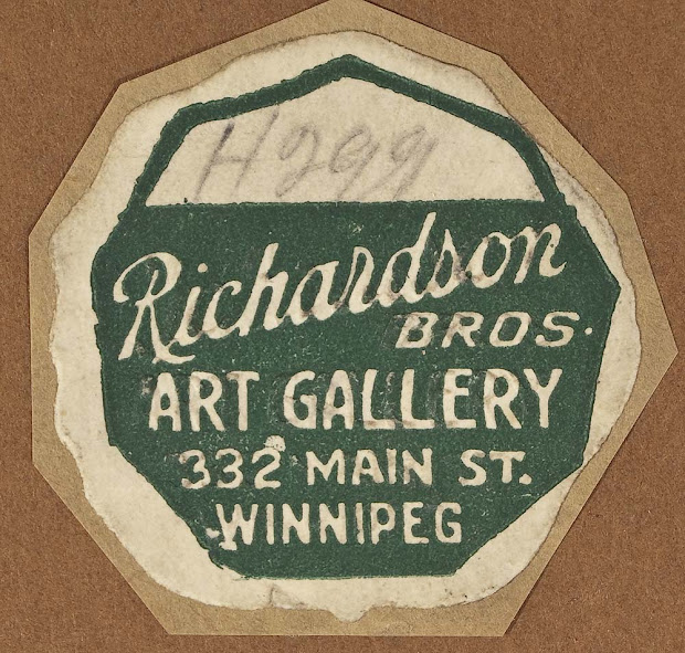 Frame Labels Richardson Bros. Art